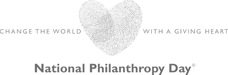 national philanthropy day logo